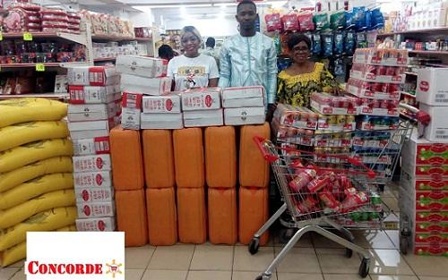 Assistance aux orphelinats : Supermarché La Concorde soutient les actions de Togovi Give Back . Edition 2018